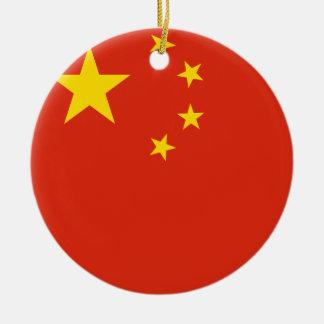 China Flag Ceramic Ornament