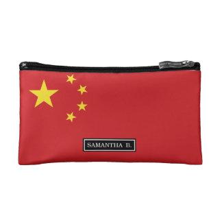 China Flag Cosmetic Bag