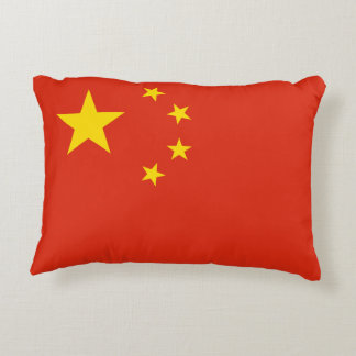 China Flag Decorative Pillow