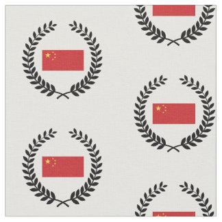 China Flag Fabric