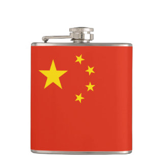 China Flag Flask