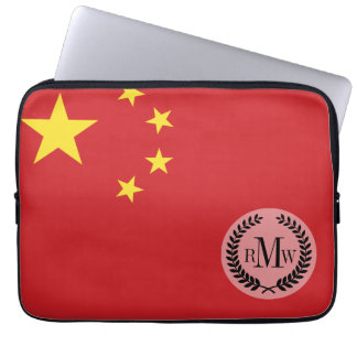 China Flag Laptop Sleeve