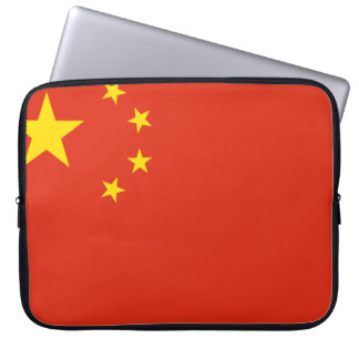 China Flag Laptop Sleeve