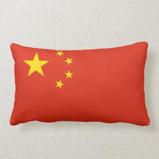 China Flag Lumbar Pillow