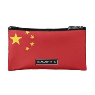 China Flag Makeup Bag