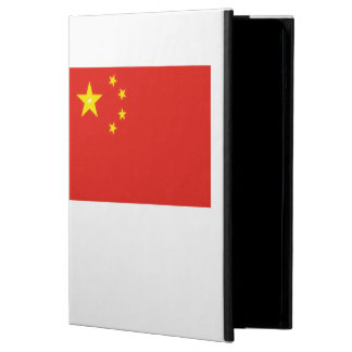 China Flag Oil Painting iPad Air Cover