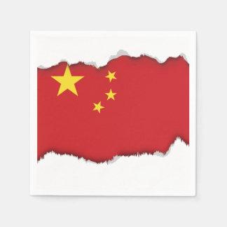 China Flag Paper Napkin
