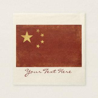 China Flag Party Napkins