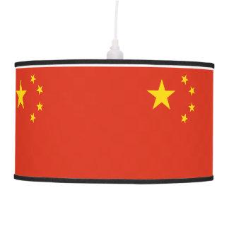 China Flag Pendant Lamp
