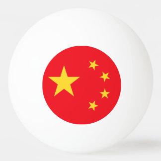 China Flag Ping Pong Ball