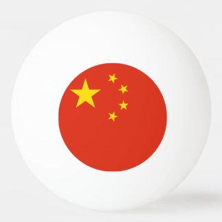 China Flag Ping-Pong Ball