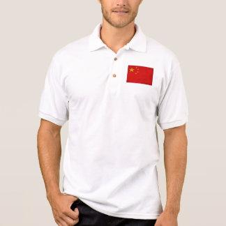 China Flag Polo Shirt