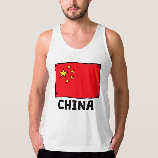 China Flag Tank Top