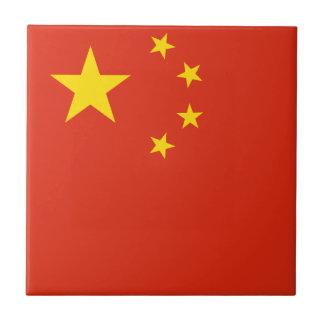 China Flag Tile