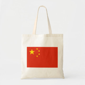 China Flag Tote Bag