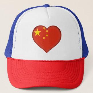 China Flag Trucker Hat