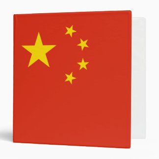 China Flag Vinyl Binder