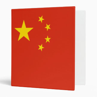 China Flag Vinyl Binders