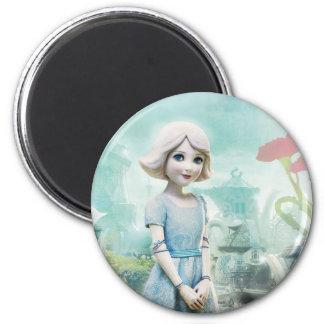 China Girl 1 2 Inch Round Magnet