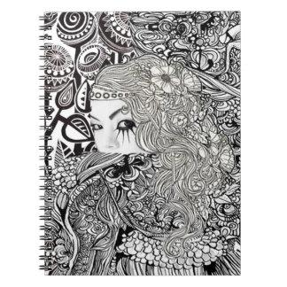 China girl Notebook