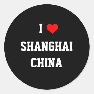 CHINA: I Love Shanghai Sticker