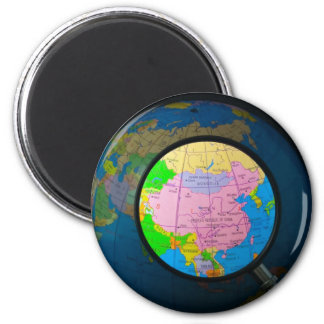 China in focus magnet