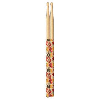 China lucky cat, dragon, and panda drum sticks