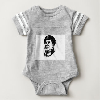 China Mao symbol Baby Bodysuit
