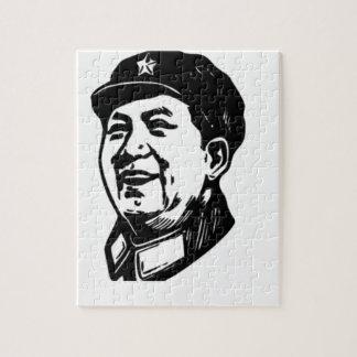 China Mao symbol Jigsaw Puzzle