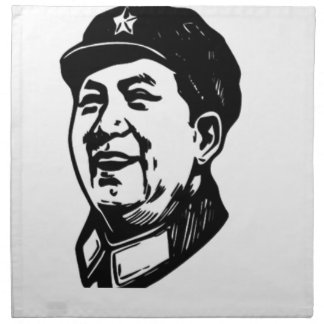 China Mao symbol Napkin