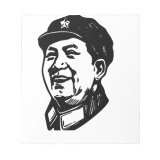 China Mao symbol Notepad