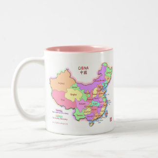 China Map Mug