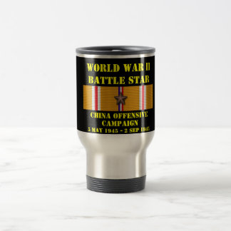 China Offensive Campaign 15 Oz Stainless Steel Travel Mug