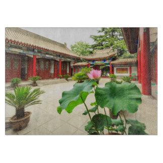 China Pagoda Interior Cutting Board