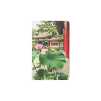 China Pagoda Interior Pocket Moleskine Notebook