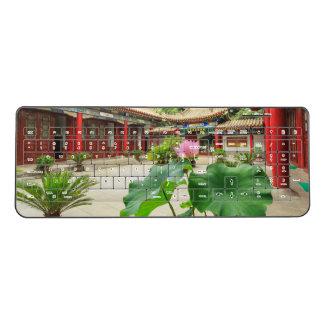 China Pagoda Interior Wireless Keyboard