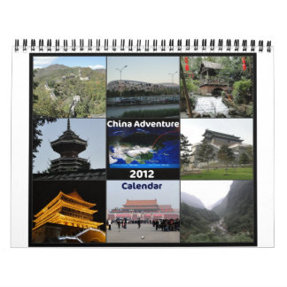 China Panda Adventure - 2012 Calendar