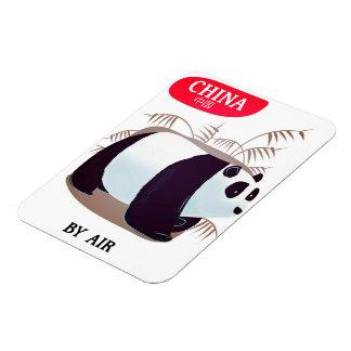 China Panda travel poster Magnet
