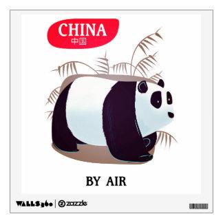China Panda travel poster Wall Sticker