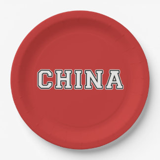 China Paper Plate