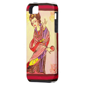 china red iPhone 5 cover