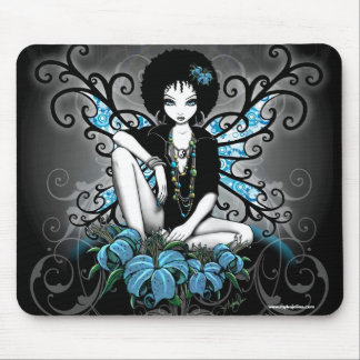 China Retro Afro Lilly Gothic Fairy Mouse Pad