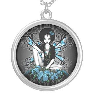 """""""China"""" Retro Lilly Fairy Art Necklace"""