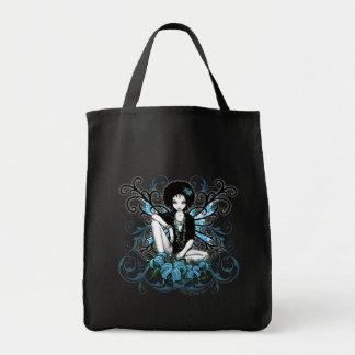 China Retro Lilly Fantasy Canvas Bag