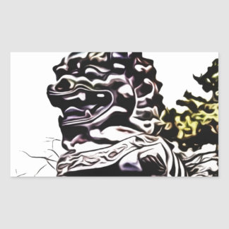 china sculpture monument sticker