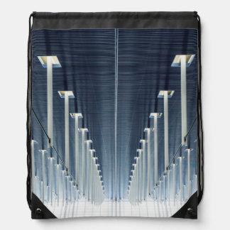 China, Shanghai | Pudong International Airport Drawstring Bag