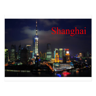 china shanghai (St.K) Postcard