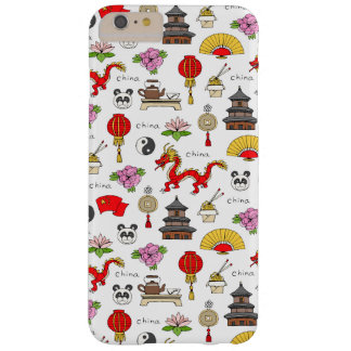 China Symbols Pattern Barely There iPhone 6 Plus Case