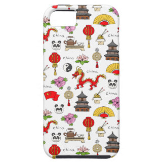 China Symbols Pattern iPhone 5 Covers