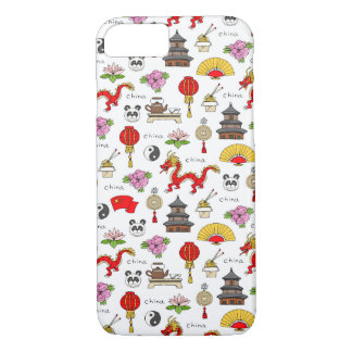 China Symbols Pattern iPhone 8/7 Case